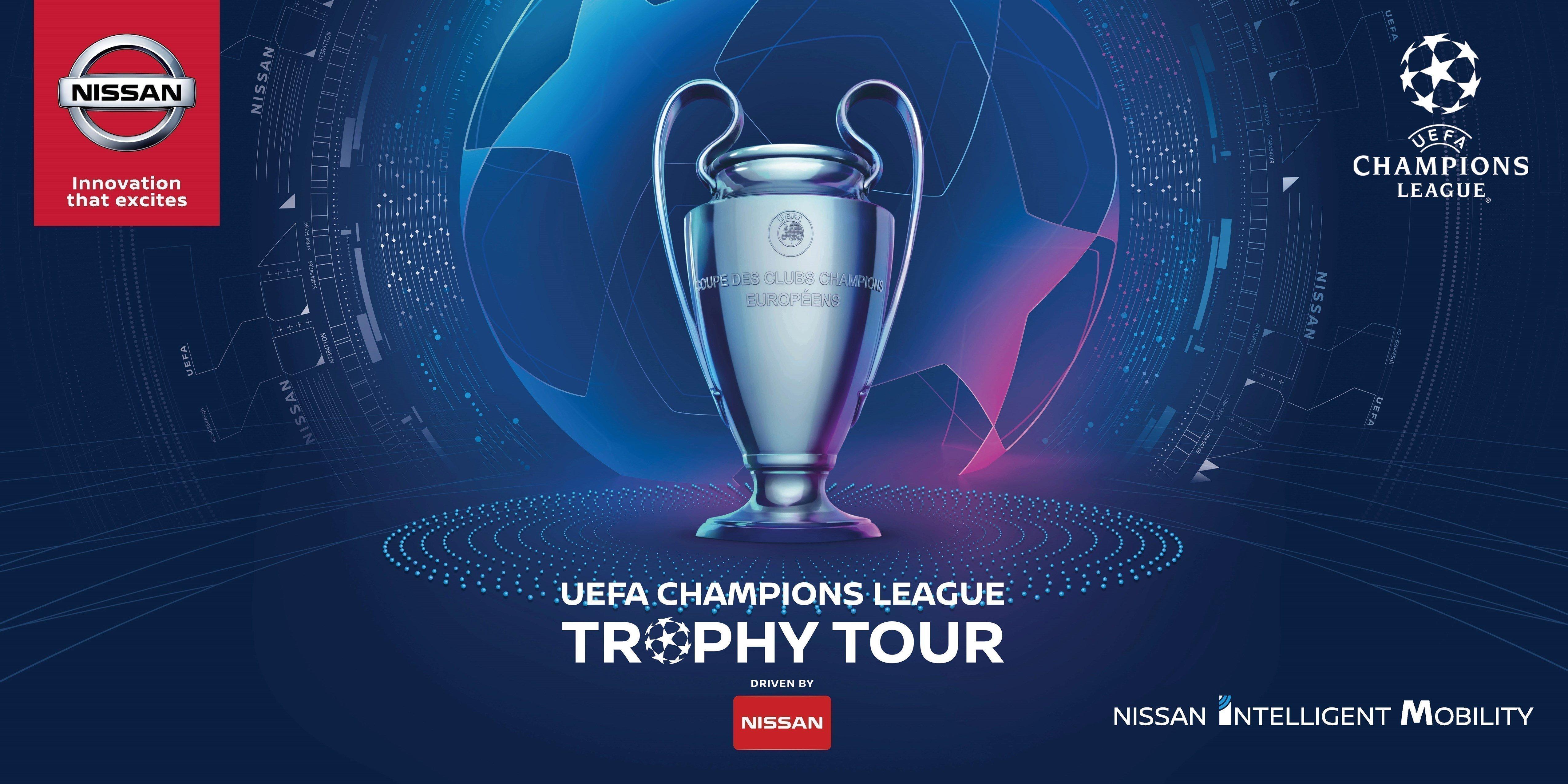 Champions League Gallery: Η Nissan βγάζει… περιοδεία το κύπελλο του UEFA Champions